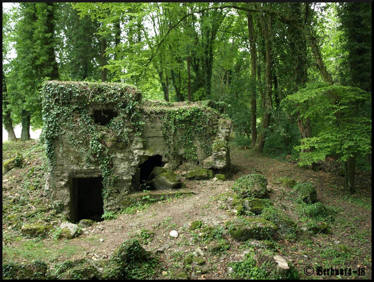 Beton-Unterstand bei Verdun