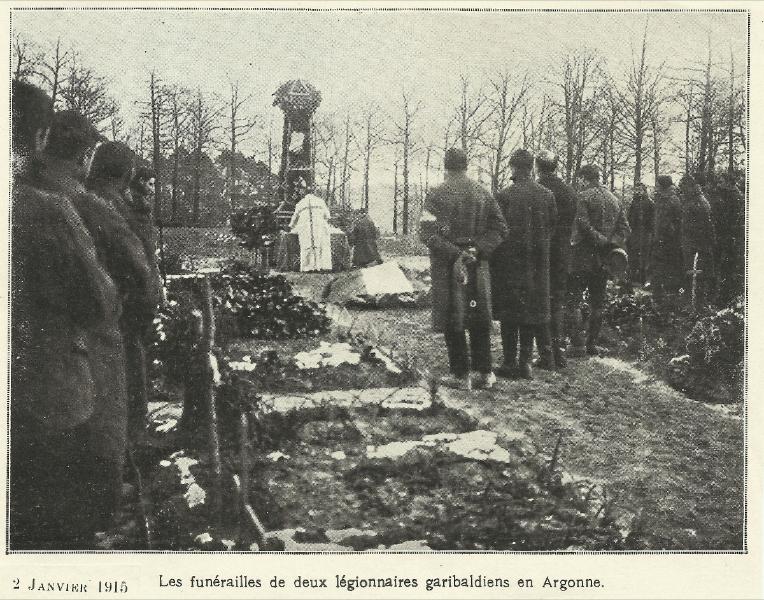 Begräbnis der Garibaldianer
