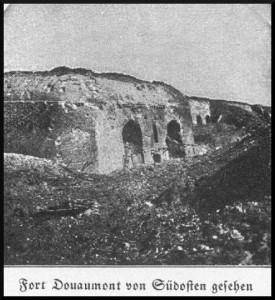 Fort Douaumont von Südosten gesehen