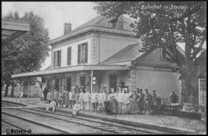Der Bahnhof in Stenay