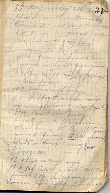 Tagebuch Kuhlmann