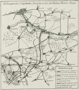 Woevre-Karte