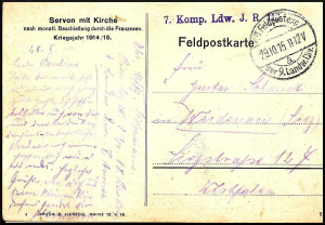Feldpost Hermann Wolpmann